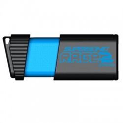 Patriot Memory - PEF256GSR2USB - Patriot Memory Extreme Performance Supersonic Rage 2 USB Flash Drive (PEF256GSR2USB) - 256 GB - USB 3.0 - Black, Blue