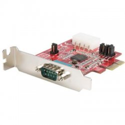StarTech - PEX1S952LP - StarTech.com 1 Port Low Profile Native PCI Express Serial Card w/ 16950 - 1 x 9-pin DB-9 Male RS-232 Serial