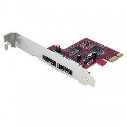 StarTech - PEXESAT32 - StarTech.com 2 Port SATA 6 Gbps PCIe eSATA Controller Card - 2 x 7-pin Male Serial ATA/600 External SATA