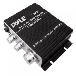 Pyle / Pyle-Pro - PFA200 - Pyle PFA200 Car Amplifier - 60 W RMS - 2 Channel - Class T