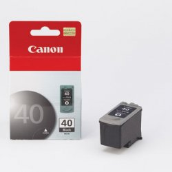 Canon - 0615B002 - Canon PG-40 Ink Cartridge - Inkjet - Standard Yield - 1 / Each