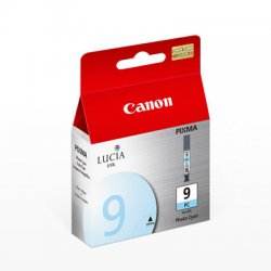 Canon - 1038B002 - Canon Lucia PGI-9PC Photo Cyan Ink Cartridge - Inkjet - 1 Each