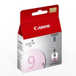 Canon - 1039B002 - Canon Lucia PGI-9PM Photo Magenta Ink Cartridge - Inkjet - 1 Each