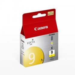 Canon - 1037B002 - Canon Lucia PGI-9Y Yellow Ink Cartridge - Inkjet - 1 Each