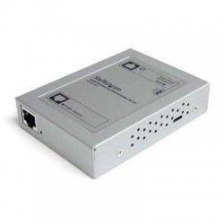 StarTech - POESPLT100 - StarTech.com 10/100 PoE Power over Ethernet Splitter 5V/12V - Silver