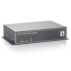 CP Tech / Level One - POI-4000 - LevelOne POI-4000 High Power PoE Injector (56W) - Input Power 24V, 2.7A - Worked well with POS-4000