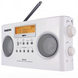 Sangean - PR-D5 - Sangean PR-D5 Digital Tuning Portable Stereo Radio - 5 x AM, 5 x FM Presets