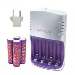 Lenmar - PRO712 - Lenmar 90-Minute Rapid NiMH AC Charger - 110 V AC, 220 V AC Input