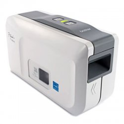 "Brother International - PT2430PC - Brother P-touch PT-2430PC Thermal Transfer Printer - Monochrome - Desktop - Label Print - 0.39 in/s Mono - 180 dpi - USB - 1"" Label Width"