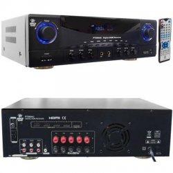 Pyle / Pyle-Pro - PT590AU - PyleHome PT590AU A/V Receiver - 350 W RMS - 5.1 Channel - Dolby Pro Logic - 300 W - AM, FM - HDMI - 4 x HDMI In - 1 x HDMI Out - USB