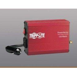 Tripp Lite - PV150 - Tripp Lite Portable Auto Inverter 150W 12V DC to 120V AC 1 Outlet 5-15R - 12V DC - 120V AC - Continuous Power:150W