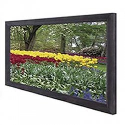 "Elite Screens - R120H1 - Elite Screens R120H1 ezFrame Wall Mount Fixed Frame Projection Screen (120"" 16:9 Aspect Ratio) (CineGrey) - 59"" x 104"" - CineGrey - 120"" Diagonal"