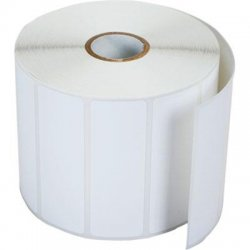 Brother International - RDS04U1 - Brother RDS04U1 Die Cut Paper Label - 76mm Width x 25.58mm Length - 1544/Roll - 12 Roll