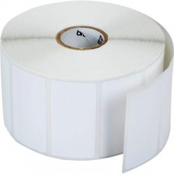 Brother International - RDS05U1 - Brother RDS05U1 Die Cut Paper Label - 51mm Width x 25.58mm Length - 1544/Roll - 12 Roll