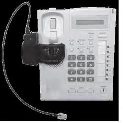 Spracht - RHL-2010 - Spracht Remote Handset Lifter - 1 x Phone Line (RJ-11) - Silver