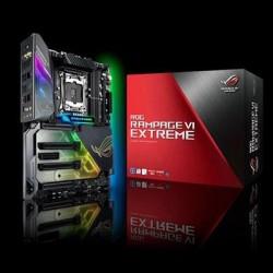 Asus - ROG RAMPAGE VI EXTRME - Lga2066 Ddr4 M.2 U.2 X299 Eatx 11ad Wigig Wifi Usb 3.1 Aura Sync
