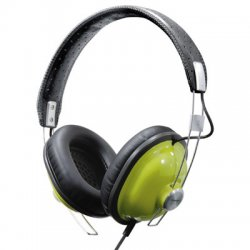 Panasonic - RP-HTX7G1 - Panasonic RP-HTX7 Stereo Headphone - Wired Connectivity - Stereo - Over-the-head - Green