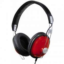 Panasonic - RP-HTX7-R1 - Panasonic RP-HTX7 Stereo Headphone - Wired Connectivity - Stereo - Over-the-head - Red