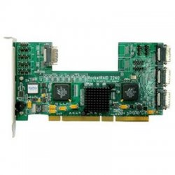 HighPoint Technologies - RocketRaid2240 - HighPoint RocketRAID 2240 16-Channel SATA II RAID Controller - PCI-X - Up to 300MBps