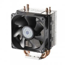 Cooler Master - RR-H101-22FK-RI - Cooler Master RR-H101-22FK-RI Hyper 101i CPU Cooler - 1 x 80 mm - 2200 rpm - Sleeve Bearing - Side Fan Location - Retail