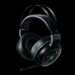 Razer - RZ04-01590100-R3U1 - Razer Thresher Ultimate Wireless Sorround Gaming Headset - Stereo - Wireless - 40 ft - 32 Ohm - 12 Hz - 28 kHz - Over-the-head - Binaural - 55 dB SNR - Circumaural