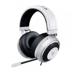 Razer - RZ04-02050200-R3U1 - Razer Kraken Pro V2 Headset - Stereo - White - Mini-phone - Wired - 32 Ohm - 20 Hz - 20 kHz - Over-the-head - Binaural - 55 dB SNR - Circumaural