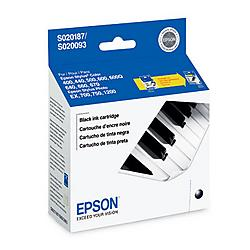 Epson - S187093 - Epson Black Ink Cartridge - Black - Inkjet - 380 Page - 1 Pack - OEM