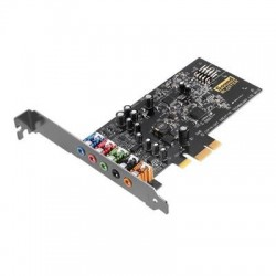 Creative Labs - 70SB157000000 - Sound Blaster Audigy Fx - 5.1 Sound Channels - Internal - PCI Express - 106 dB - 1 x Number of Microphone Ports - 1 x Number of Audio Line In
