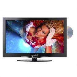 "Supersonic - SC-1912 - Supersonic SC-1912 19"" TV/DVD Combo - HDTV 1080p - 16:9 - 1366 x 768 - 720p - LED - ATSC - NTSC - 170° / 160° - HDMI - USB"