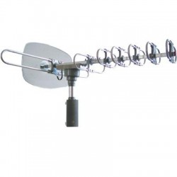 Supersonic - SC-609 - Supersonic 360 HDTV Digital Amplified TV Motorized Rotating Antenna - Upto 120 Mile - 28 dB - Satellite HDTV, Radio Communication