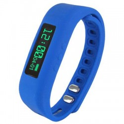 Supersonic - SC-62SWBlue - Supersonic Power X Smart Band - Wrist - Pedometer - Calories Burned - 0.9 - Bluetooth - Bluetooth 4.0 - Blue - Communication, Health & Fitness - Water Resistant