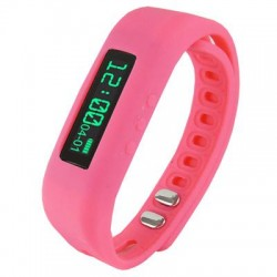 Supersonic - SC-62SWPink - Supersonic Power X Smart Band - Wrist - Pedometer - Calories Burned - 0.5 - Bluetooth - Bluetooth 4.0 - Pink - Communication, Health & Fitness - Water Resistant
