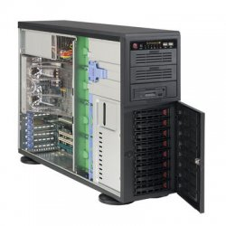Supermicro - CSE-743TQ-865B-SQ - Supermicro SC743TQ-865B-SQ Chassis - 4U - Rack-mountable - 11 Bays - 865W - Black