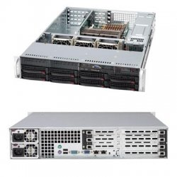 Supermicro - CSE-825TQ-R700UB - Supermicro SC825TQ-R700UB Chassis - Rack-mountable - Black