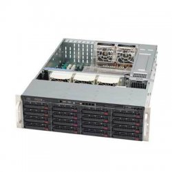 Supermicro - CSE-836TQ-R800B - Supermicro 836TQ-R800B Chassis - Rack-mountable - Black