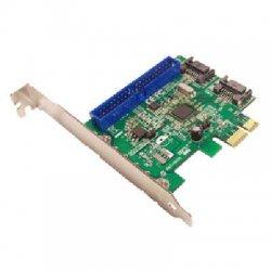 SIIG - SC-SA0E12-S1 - Siig 3-port PCI Express Serial ATA/PATA Controller - 2 x  Serial ATA/600 Serial ATA Internal, 1 x IDC  IDE/EIDE Internal