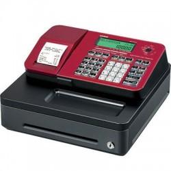 Casio - SE-S100SC-RD - SnglTape Thrm Prnt CashReg Red