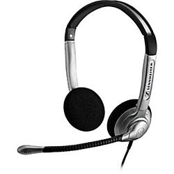 Sennheiser - SH350IP - Sennheiser SH 350 IP Headset - Stereo - Quick Disconnect - Wired - 180 Ohm - 150 Hz - 6.80 kHz - Over-the-head - Binaural - Semi-open - 3.28 ft Cable