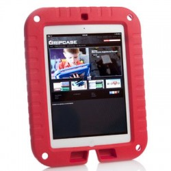 Gripcase - SHLD-AIR-RED - Gripcase Shield for iPad Air1 (Red) - iPad Air - Red - Ethylene Vinyl Acetate (EVA) Foam, Polymer