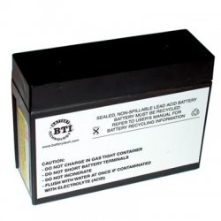 Battery Technology - RBC12-SLA12-BTI - BTI Battery Unit - 12 V DC - Lead Acid