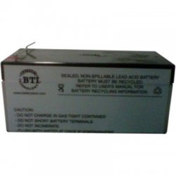 Battery Technology - RBC47-SLA47-BTI - BTI UPS Replacement Battery Cartridge - 12 V DC - Lead Acid