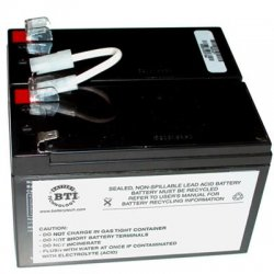 Battery Technology - RBC5-SLA5-BTI - BTI UPS Replacement Battery Cartridge - 12 V DC - Lead Acid