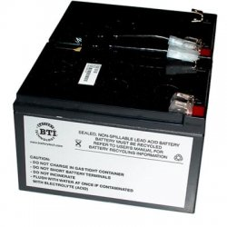Battery Technology - RBC6-SLA6-BTI - BTI UPS Replacement Battery Cartridge - 12 V DC - Lead Acid