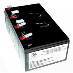 Battery Technology - RBC8-SLA8-BTI - BTI UPS Replacement Battery Cartridge - 12 V DC - Lead Acid