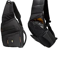 Case Logic - SLRC-205Black - Case Logic SLRC-205 SLR Sling Backpack - 14.75 x 4.5 x 3.75 - Nylon - Black