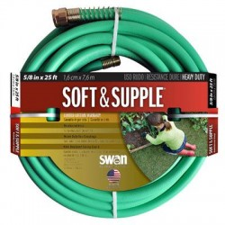 "Colorite Swan - SS5825 - 5'8""x25' Soft & Supple Garden Hose"