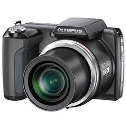 "Olympus - 228046 - SP-61OUZ 14MP Digital Camera Kit with 22x Wide Angle Zoom and 3"" LCD"