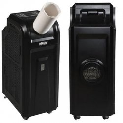 Tripp Lite - SRCOOL12K - Tripp Lite Portable Cooling Unit / Air Conditioner 12K BTU 3.4kW 120V 60Hz - 1 Pack - 247 CFM - 21.5 mL/min - Tower - Black - IT, Industrial - 12660.7 kJ - Black - 120 V AC - 1250 W