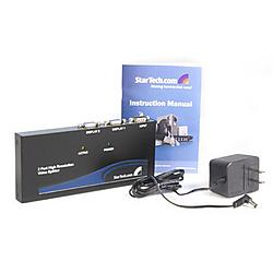 StarTech - ST122PRO - Split A Single High Resolution Vga Video Signal To 2 Monitors Or Projectors - Vg