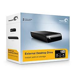 Seagate - ST310005EXA101-RK - Seagate ST310005EXA101-RK 1 TB 3.5 External Hard Drive - USB 2.0 - 7200